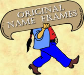 original name frames logo